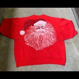Vintage Hanes Santa clause sweatshirt size XXL